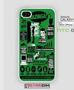 Big Bang theory quote iphone case 4s/5s/5c/6/6plus/SE