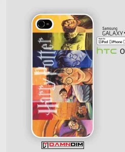 Harry Potter Book Cover cases for Iphone Case, Ipod Case, Samsung Galaxy and HTC One