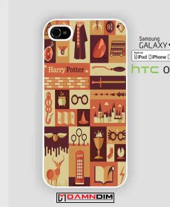 harry potter collage art 2 cases for Iphone Case, Ipod Case, Samsung Galaxy and HTC One