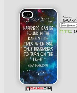 Harry Potter Dumbledor Quote cases for Iphone Case, Ipod Case, Samsung Galaxy and HTC One
