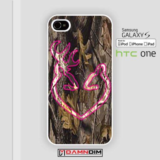 Love Browning Deer Camo iphone case 4s/5s/5c/6/6plus/SE