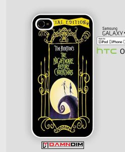Nightmare Before Christmas iphone case 4s/5s/5c/6/6plus/SE