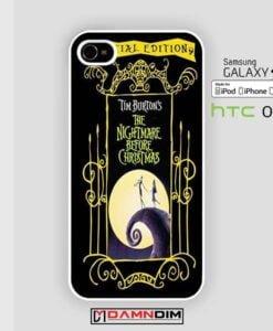 Nightmare Before Christmas iphone case 4s/5s/5c/6/6plus/SE