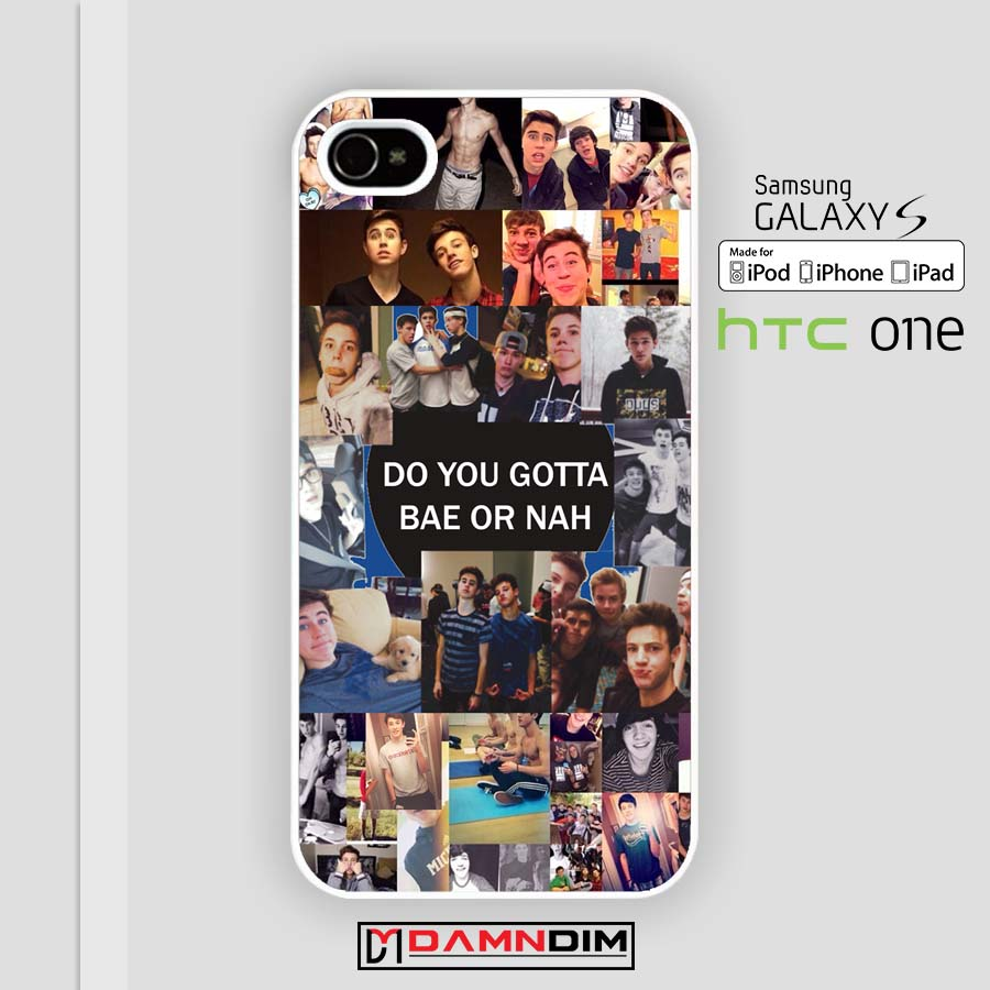 pretty nice 84fe8 55bc4 Magcon Collage iphone case 4s/5s/5c/6/6plus/SE