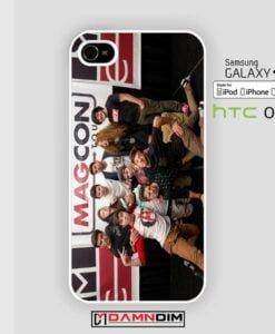 Magcon Tour 2014 Cover iphone case 4s/5s/5c/6/6plus/SE
