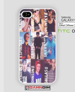 Magcon boys iphone case 4s/5s/5c/6/6plus/SE