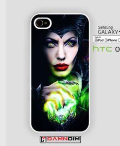 Maleficent Sleeping Beauty Glass iphone case 4s/5s/5c/6/6plus/SE