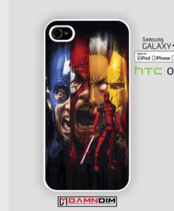 Marvel Avengers iphone case 4s/5s/5c/6/6plus/SE