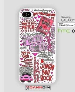 Mean Girls Collage iphone case 4s/5s/5c/6/6plus/SE