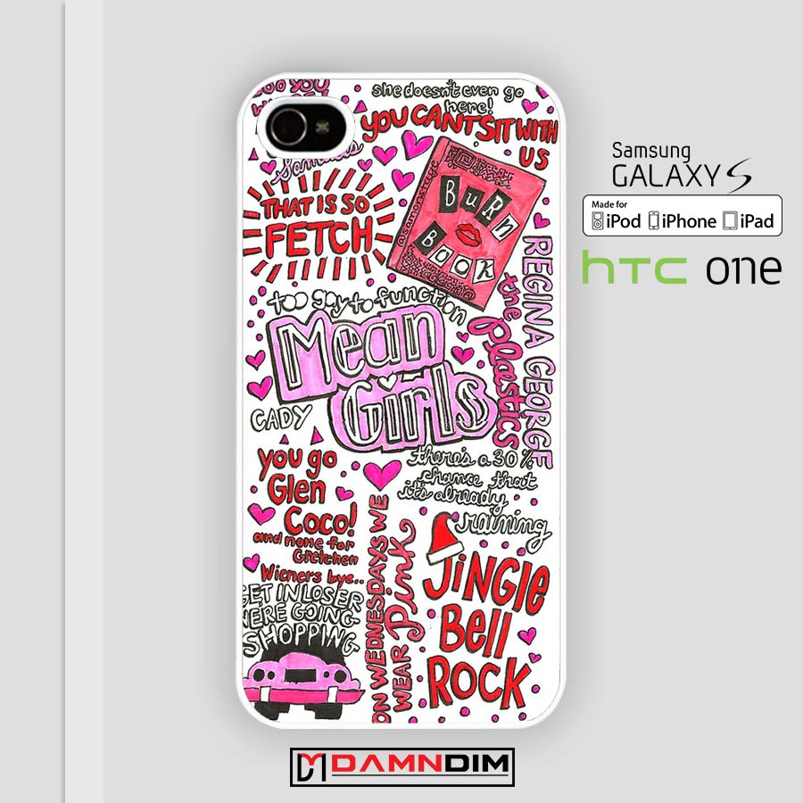 outlet store 30a9f 06880 Mean Girls Collage iphone case 4s/5s/5c/6/6plus/SE