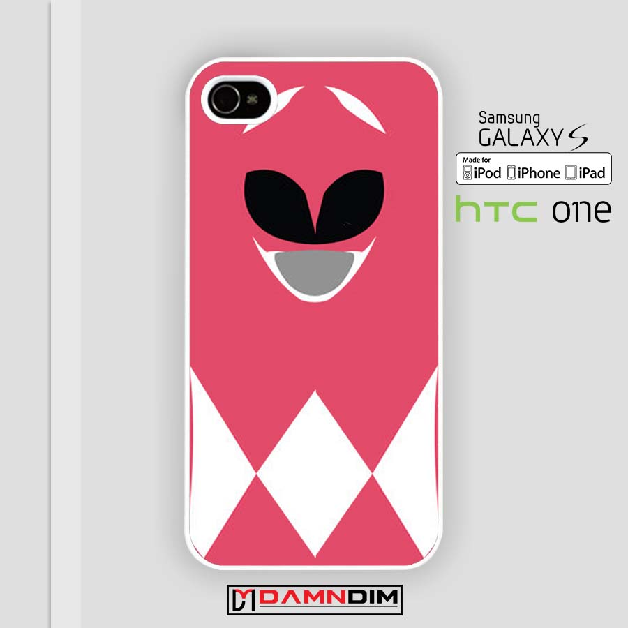new product 11995 fd71e Mighty Morphin Power Rangers pink iphone case 4s/5s/5c/6/6plus/SE