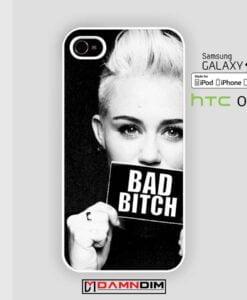 Miley Cyrus Bad Bitch iphone case 4s/5s/5c/6/6plus/SE