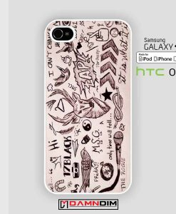 One Direction Tattoos iphone case damndim.com