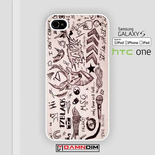 One Direction Tattoos iphone case damndim.com