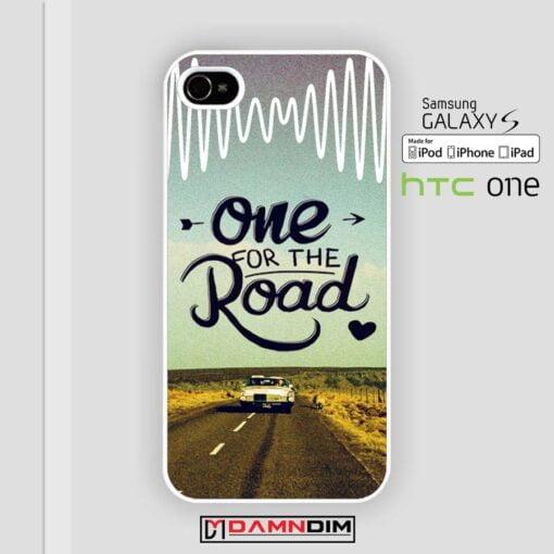 One For The Road Arctic Monkeys iphone case damndim.com