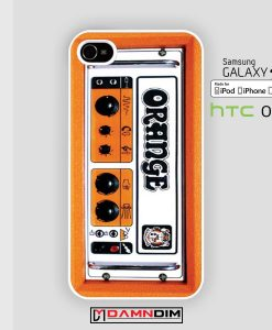 orange guitar electric amp iphone case damndim.com