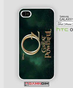 Oz thegreat poster iphone case damndim.com