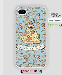 Pizza Illuminati iphone case damndim.com