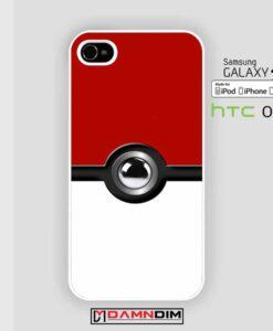 Pokeball iphone case damndim.com