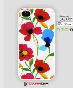 Poppy Flower iphone case damndim.com