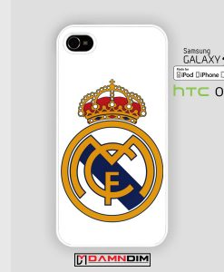 Real Madrid FC iphone case damndim.com