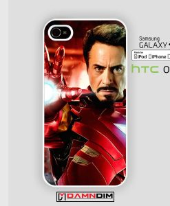 Robert Downey Jr iron man iphone case damndim.com