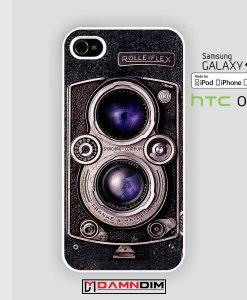 Rolleiflex Camera iphone case damndim.com