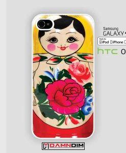 Russian doll matryoshka nested doll iphone case damndim.com