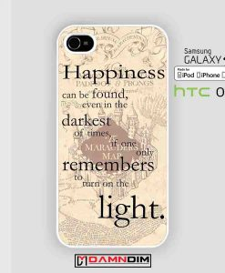 happyness quote harry potter cases for Iphone Case, Ipod Case, Samsung Galaxy and HTC