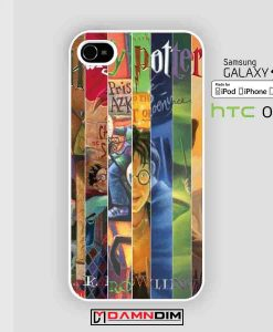 harry potter all book cases for Iphone Case, Ipod Case, Samsung Galaxy and HTC