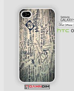 harry potter collage art cases for Iphone Case, Ipod Case, Samsung Galaxy and HTC One