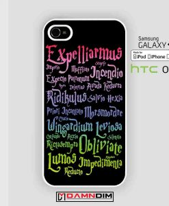 harry potter magic spelling cases for Iphone Case, Ipod Case, Samsung Galaxy and HTC One