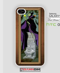 maleficent takes on the haunted mansion iphone case 4s/5s/5c/6/6plus/SE