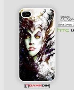 malficent art iphone case 4s/5s/5c/6/6plus/SE