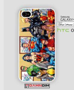 marvel comic superheroes iphone case 4s/5s/5c/6/6plus/SE