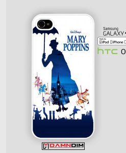 mary poppins iphone case 4s/5s/5c/6/6plus/SE