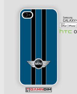 mini cooper blue iphone case 4s/5s/5c/6/6plus/SE
