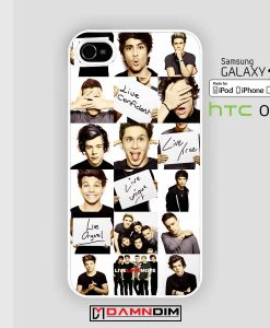 one direction signs iphone case damndim.com