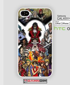 one piece characters iphone case damndim.com