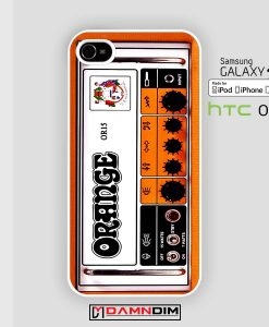 orange amp guitar iphone case damndim.com