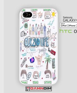 our second life lyric iphone case damndim.com