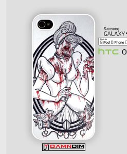 painting zombie snowhite iphone case damndim.com
