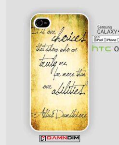 professor dumbledore iphone case damndim.com