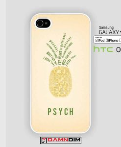psych quote pineapple iphone case damndim.com