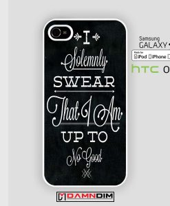 quote i solemnly swear iphone case damndim.com