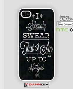 quote i solemnly swear iphone case damndim.com