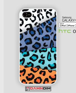 rainbow leopard iphone case damndim.com