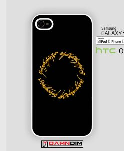 ring the Lord of the rings iphone case damndim.com
