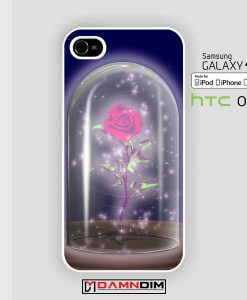 rose beauty and the beast iphone case damndim.com