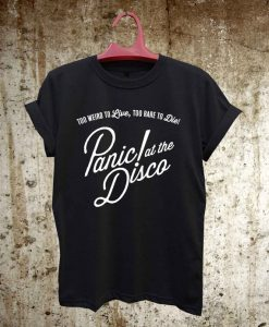 damndim.com : Panic At The Disco T-Shirt